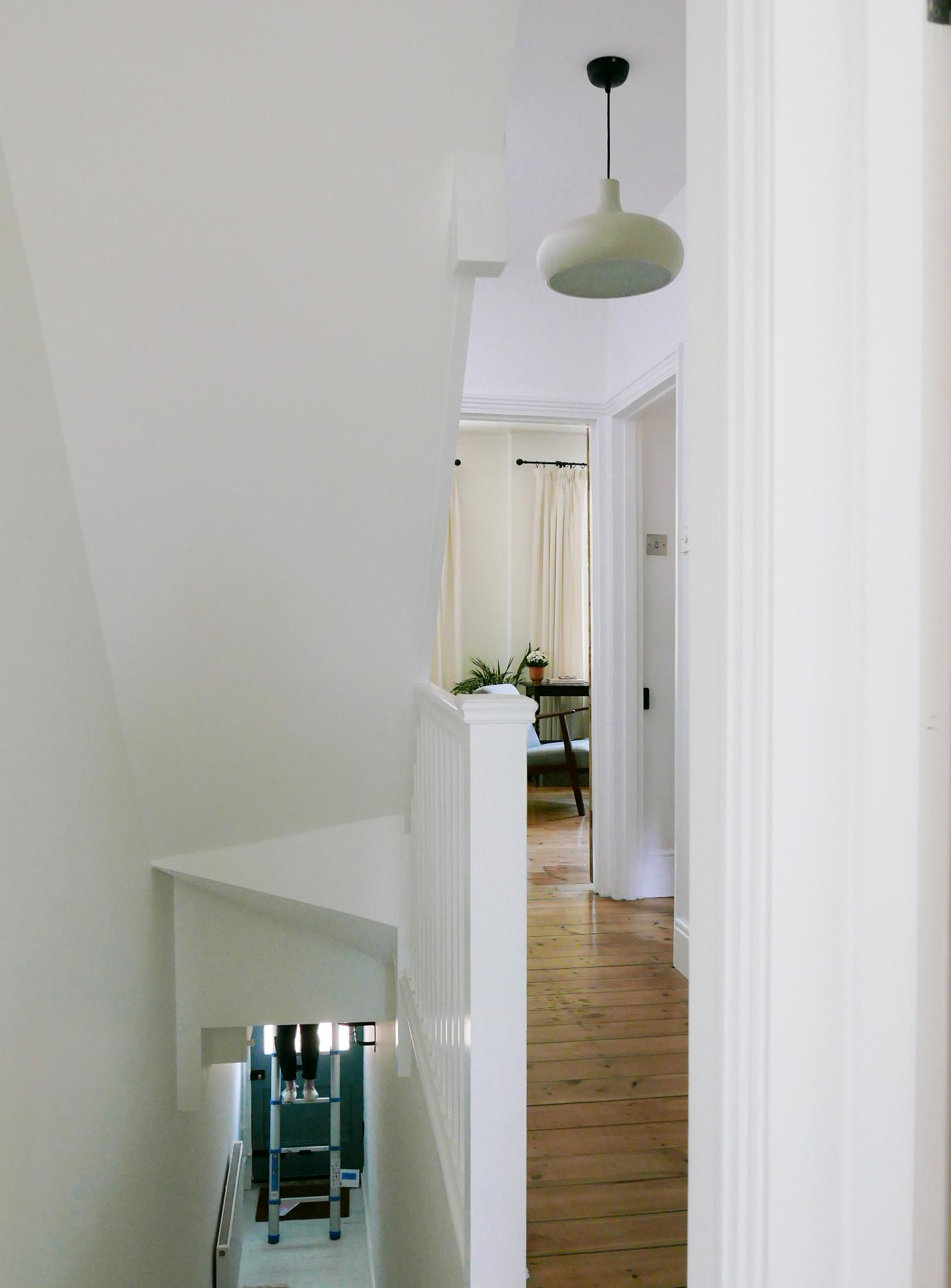 warner flat walthamstow architect e17 hallway