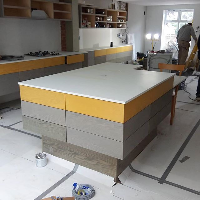 We've got 3 projects on site at the moment. 2 have just begun, but this one in South Woodford is all coming together! We're very pleased with this bespoke kitchen and island unit designed by Syndicate West. Will post finished pictures shortly.  #southwoodford #Redbridge #e17 #walthamstow #walthamstowvillage #architect17 #bespokekitchen #bespokekitchens #london #accessibledesign #accessibility #eastlondondesigner #eastlondondesign