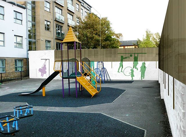 Syndicate West Architects are currently working with the local authority to find a solution to anti social behaviour on our client's estate. Our interventions include a redesign of the playground enclosure and a new archway and signage. We're in discussion with crime prevention officers and local residents to develop the scheme further. It's great to be doing architectural urban design on our door step.  #urbandesign #walthamstow #e17 #e17designers #playground #walthamforest #walthamstowcentral #signage #urbanarchitecture