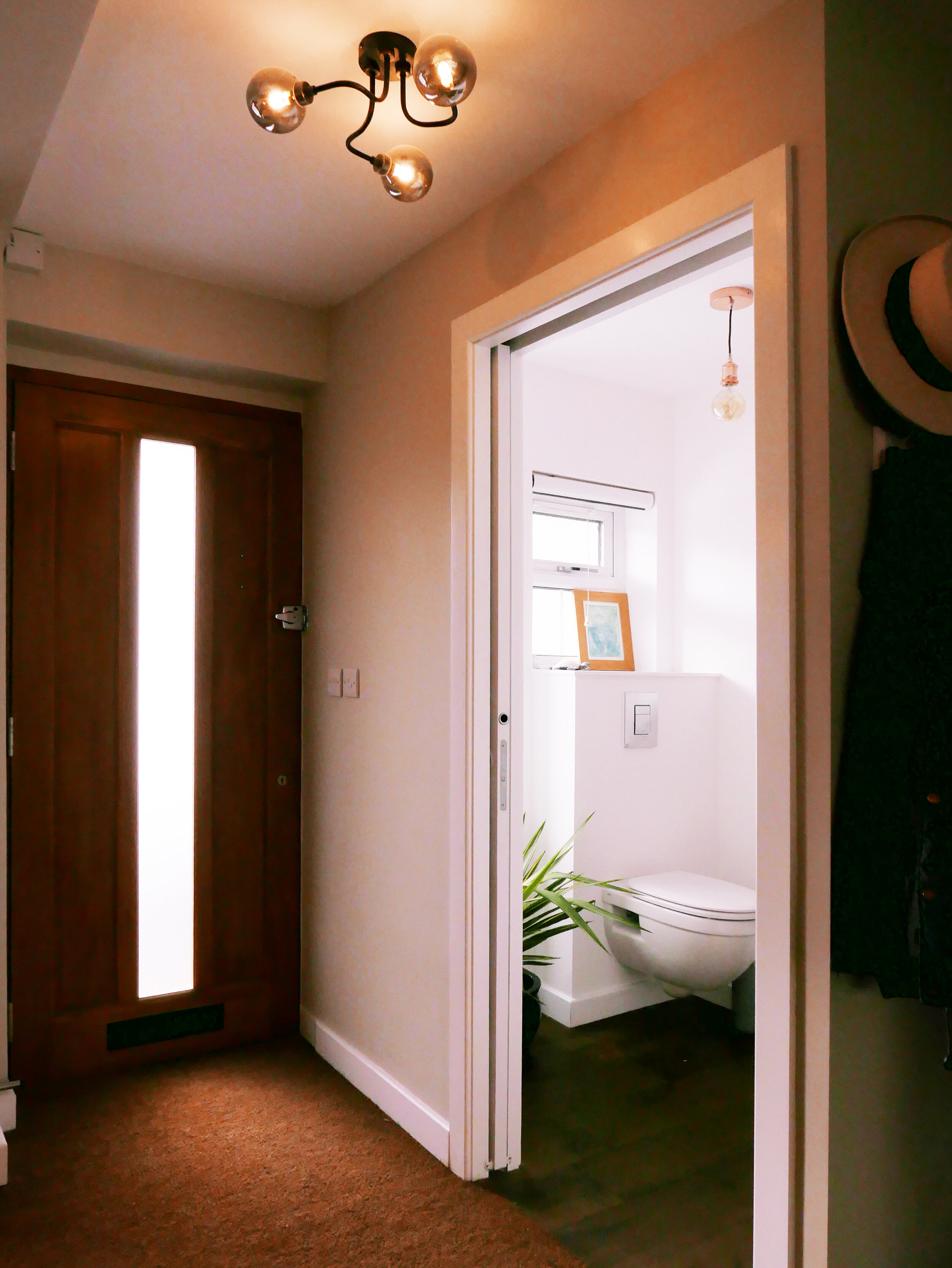Accessible Downstairs WC Flush Threshold Architecture South Woodford