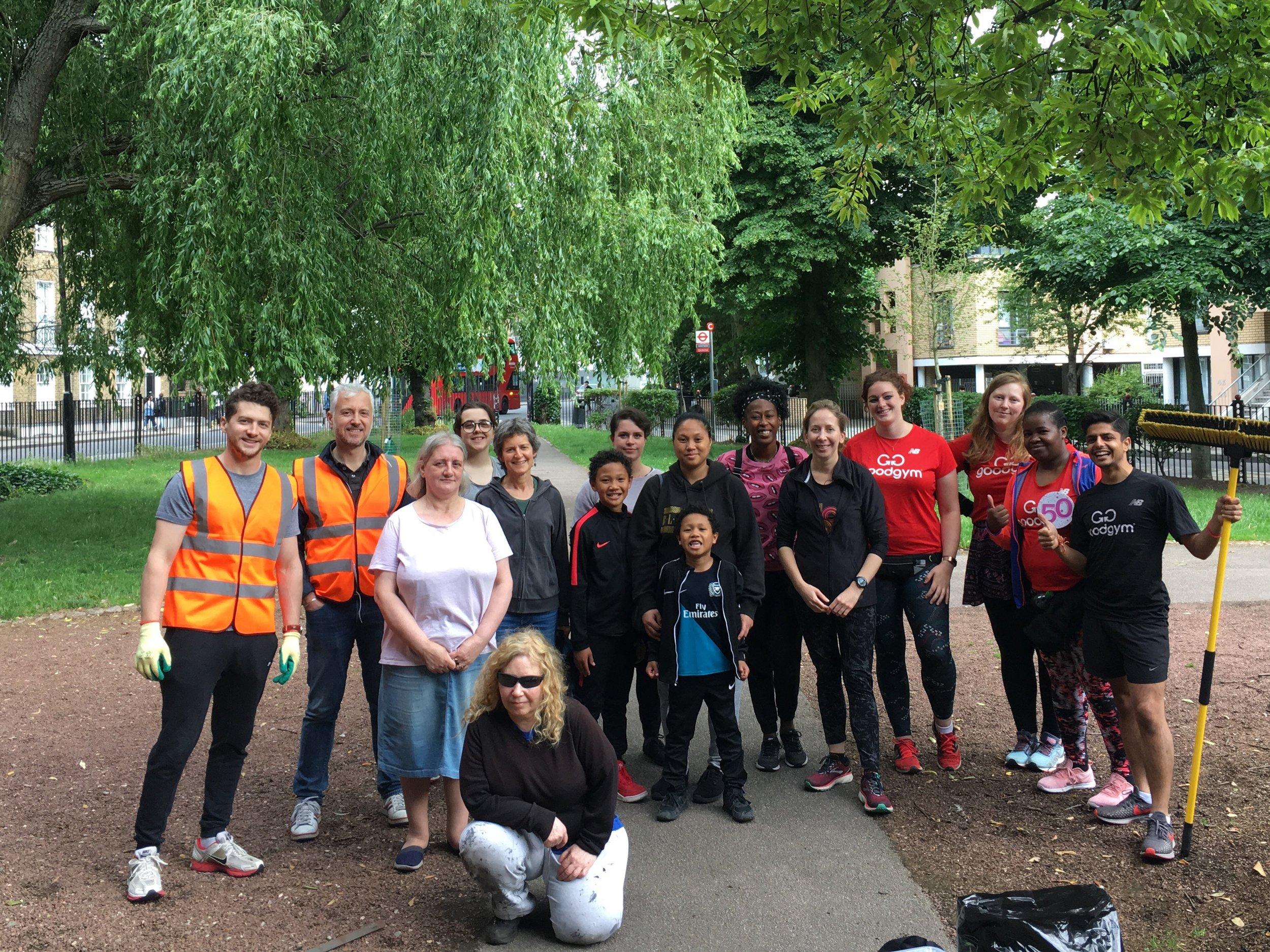 Camden Highline Volunteers in Camden Gardens.jpeg