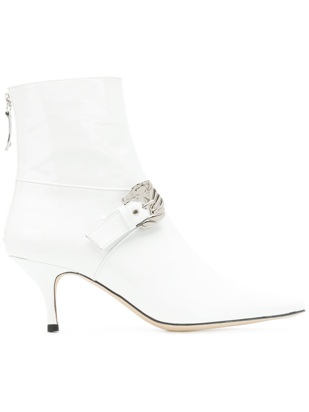 DORATEYMUR  Buckled Ankle Boots $555, Farfetch.com