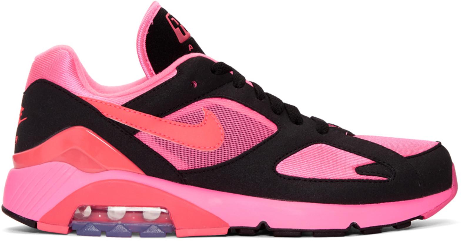 Comme des Garçons Homme Plus Nike Edition Air Max 180 Sneakers $260,  SSENSE.com