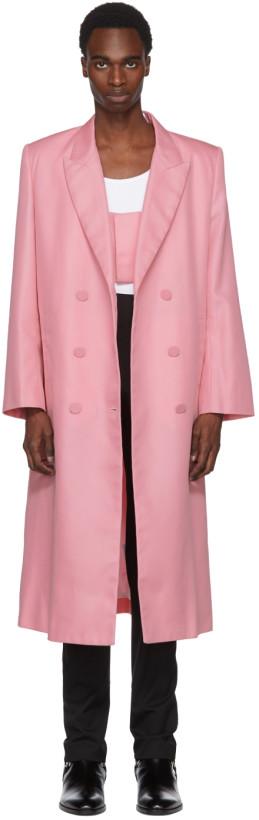 Helmut Lang Double-Breasted Coat $760,  SSENSE.COM