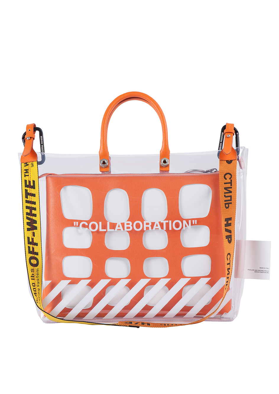 Kolor Magazine Off-White and Heron Preston Have Collaborated on A Unisex Handbag 1.jpg