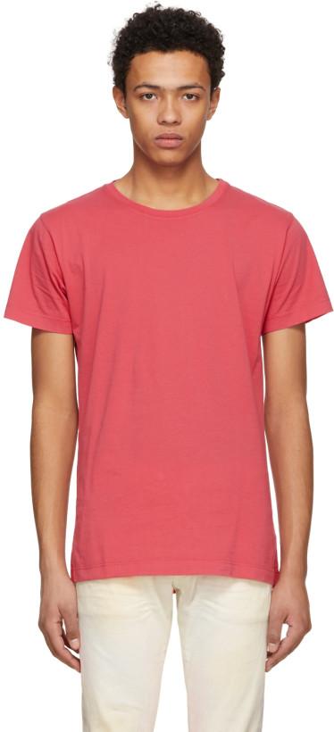 John Elliott Red Classic Crewneck T-Shirt $70,  SSENSE.com