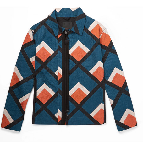 Craig Green Quilted Printed Cotton Jacket $1,890,  MrPorter.com