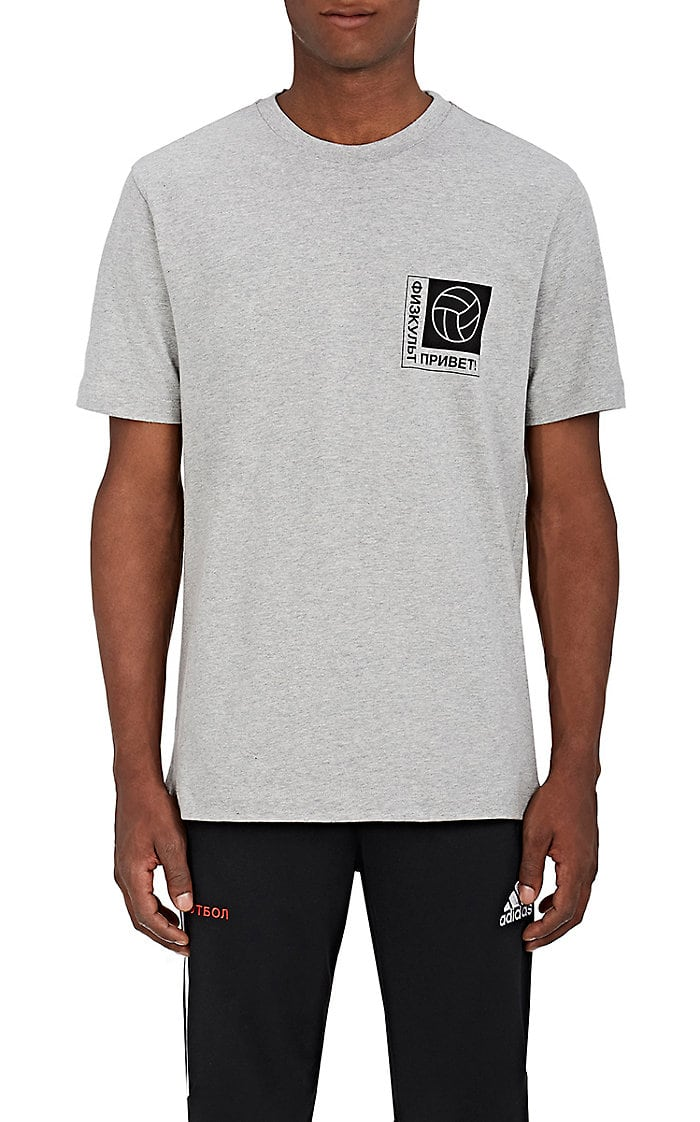 Gosha Rubchinskiy Men's Graphic Cotton Jersey T-Shirt $75,  Barneys.com
