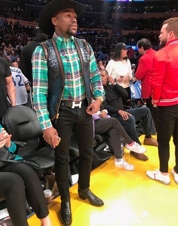 Kolor Magazine- Incase You Missed It- Dressing Up As A Cowboy Is A Ting In 2018 Floyd Mayweather.jpg-large.jpg