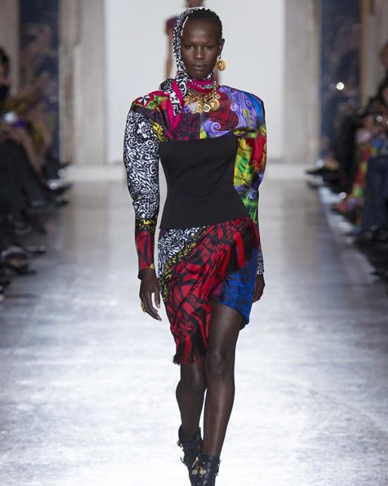 Who : Shanelle Nyasiase |  @shanellenyasiase   Where We Spotted Her: Max Mara, Roberto Cavalli, N21, Versace