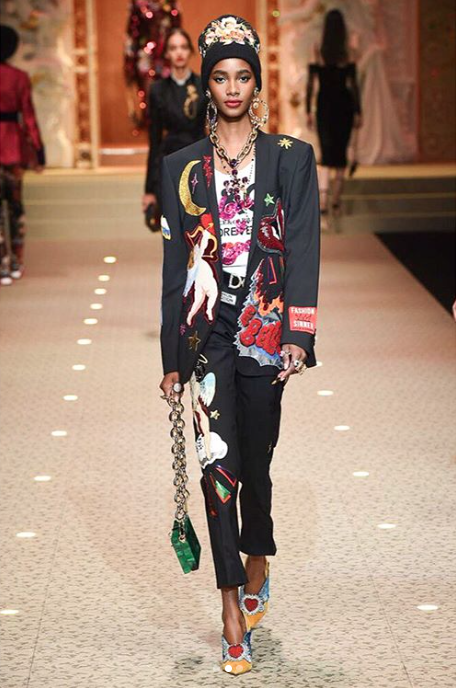 Who: Tami Willians |  @TamaWilliamsOfficial   Where We Spotter Her: Giorgio Armani, Dolce & Gabbana, Agnona