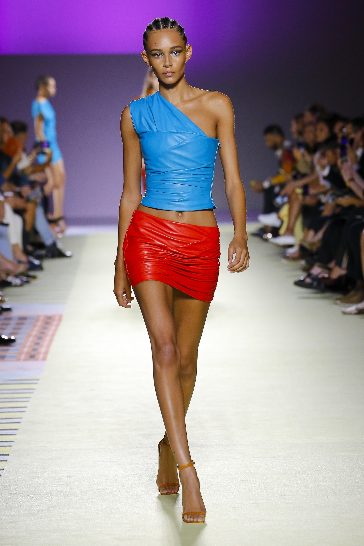 Mini Skirts at Versace