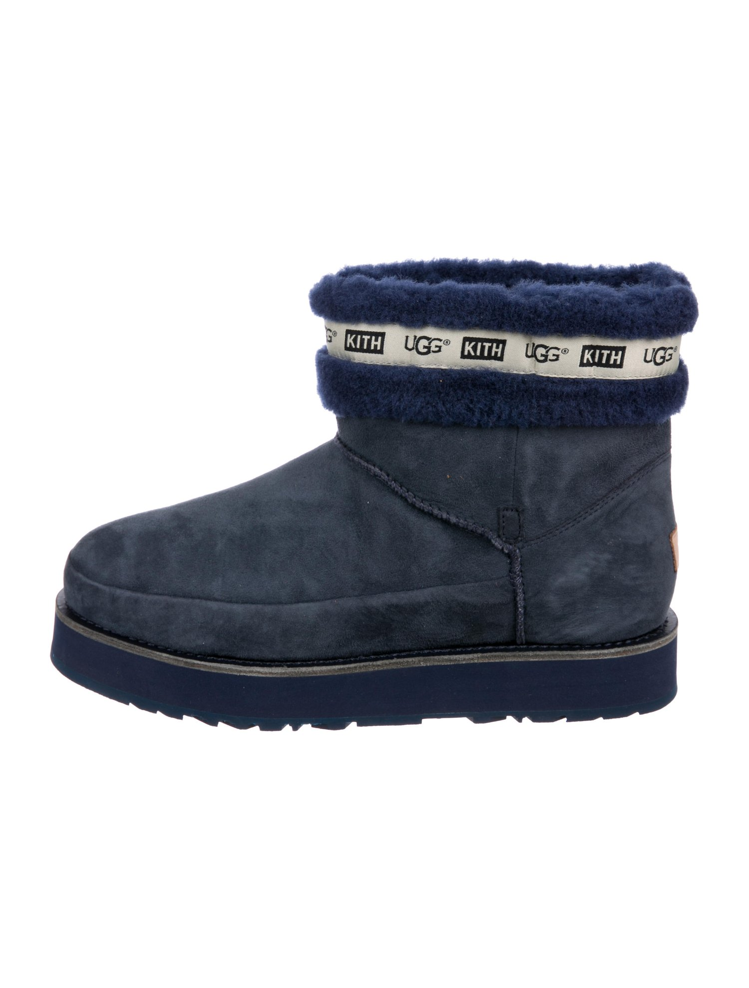 UGG AUSTRALIA Kith Suede Boots $195,  The Real Real