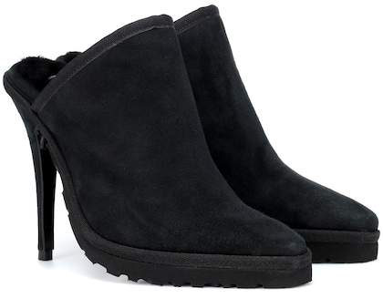 Y/PROJECT X UGG LS1 suede mules  $540,  MyTheresa.com