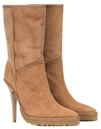 Y/PROJECT x UGG LS1 suede ankle boots  $715,  MyTheresa.com  ( Click Here for the black pair)