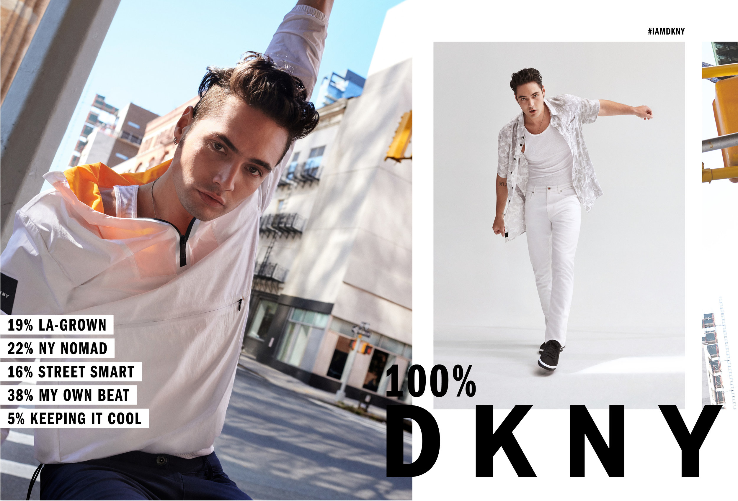 Kolor Magazine Aiden Curtiss and Levi Dylan Star In DKNY Spring 2019 Campaign DKNY_SS19_SPREAD_MEN_A.jpg