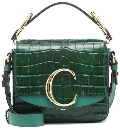CHLOE Mini C Bag $1,690,  mytheresa.com