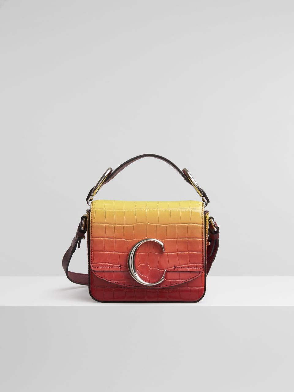 CHLOE Mini C Bag $1,690,  chloe.com
