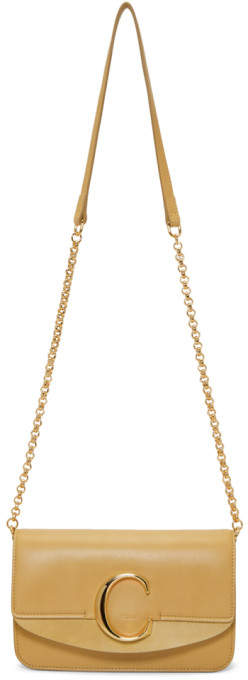 CHLOE C Clutch With Chain $1,190,  ssense.com