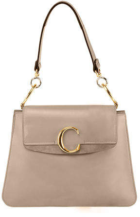 CHLOE C Medium Shiny Leather Shoulder Bag $1,990,  neimanmarcus.com