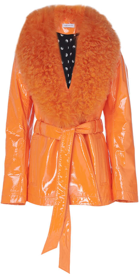 SAKS POTTS - Fur Trimmed Jacket $950, modaoperandi.com