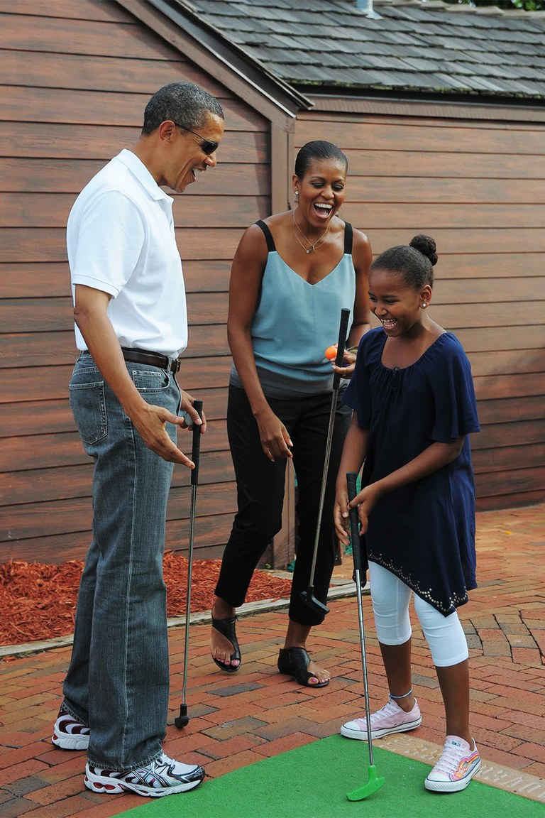 Barack Obama wearing dad jeans. Images Courtesy:  Vanity Fair