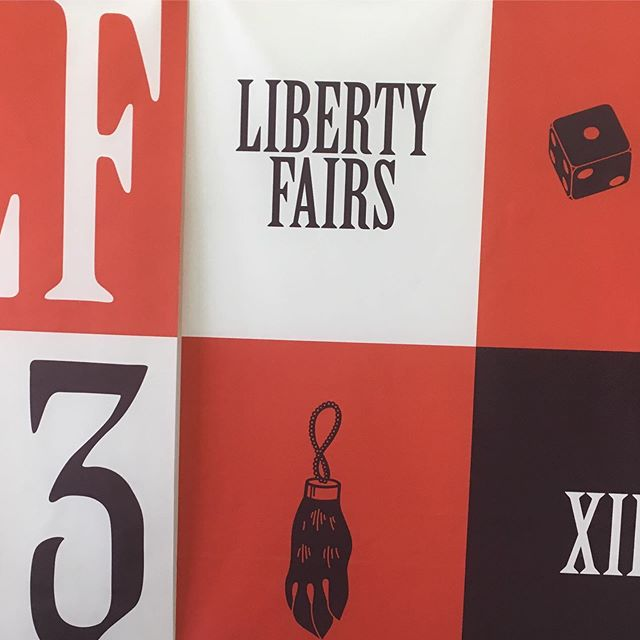 Made our rounds around @libertyfairs today!