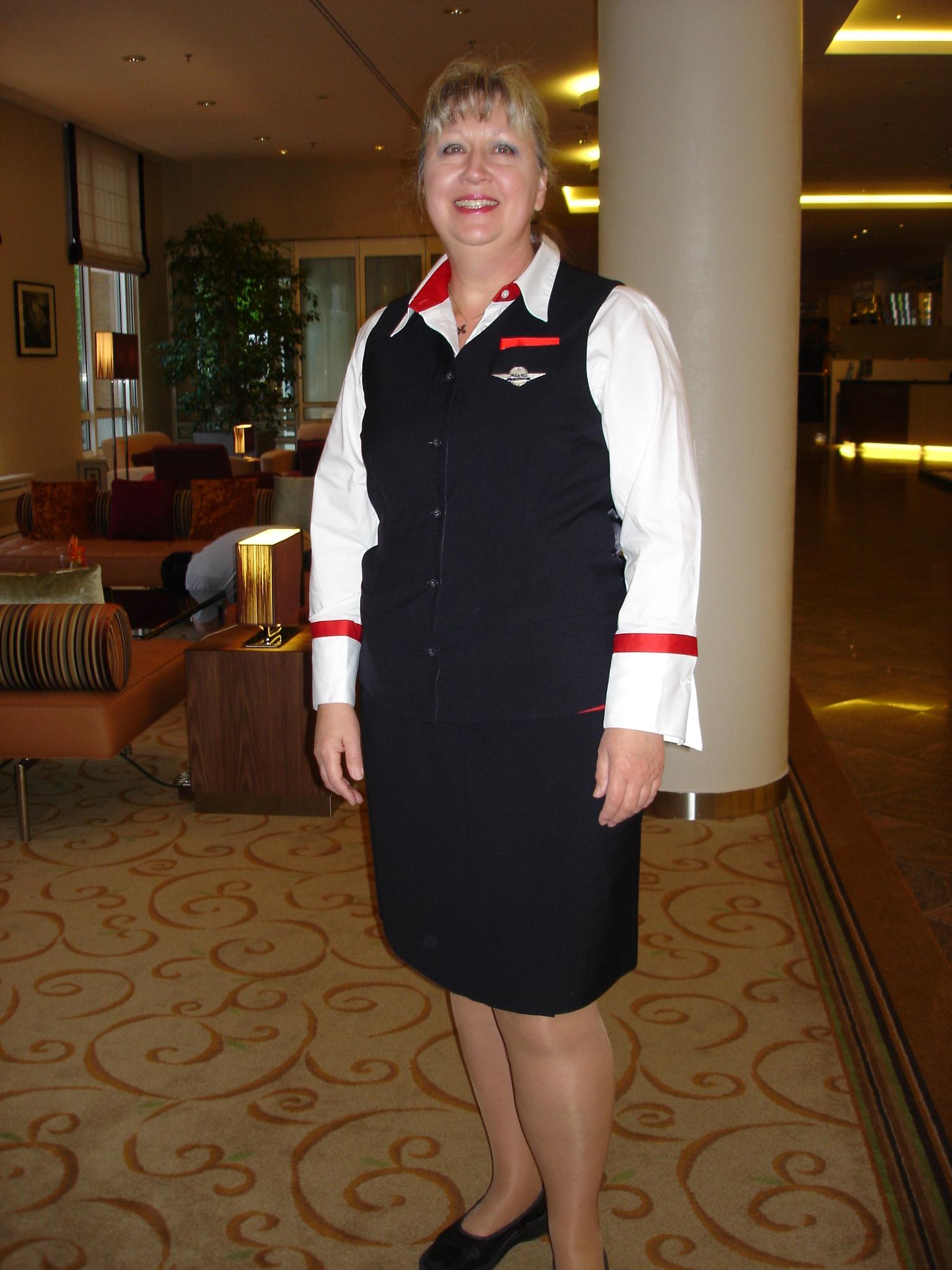 Carolyn, flight attendant