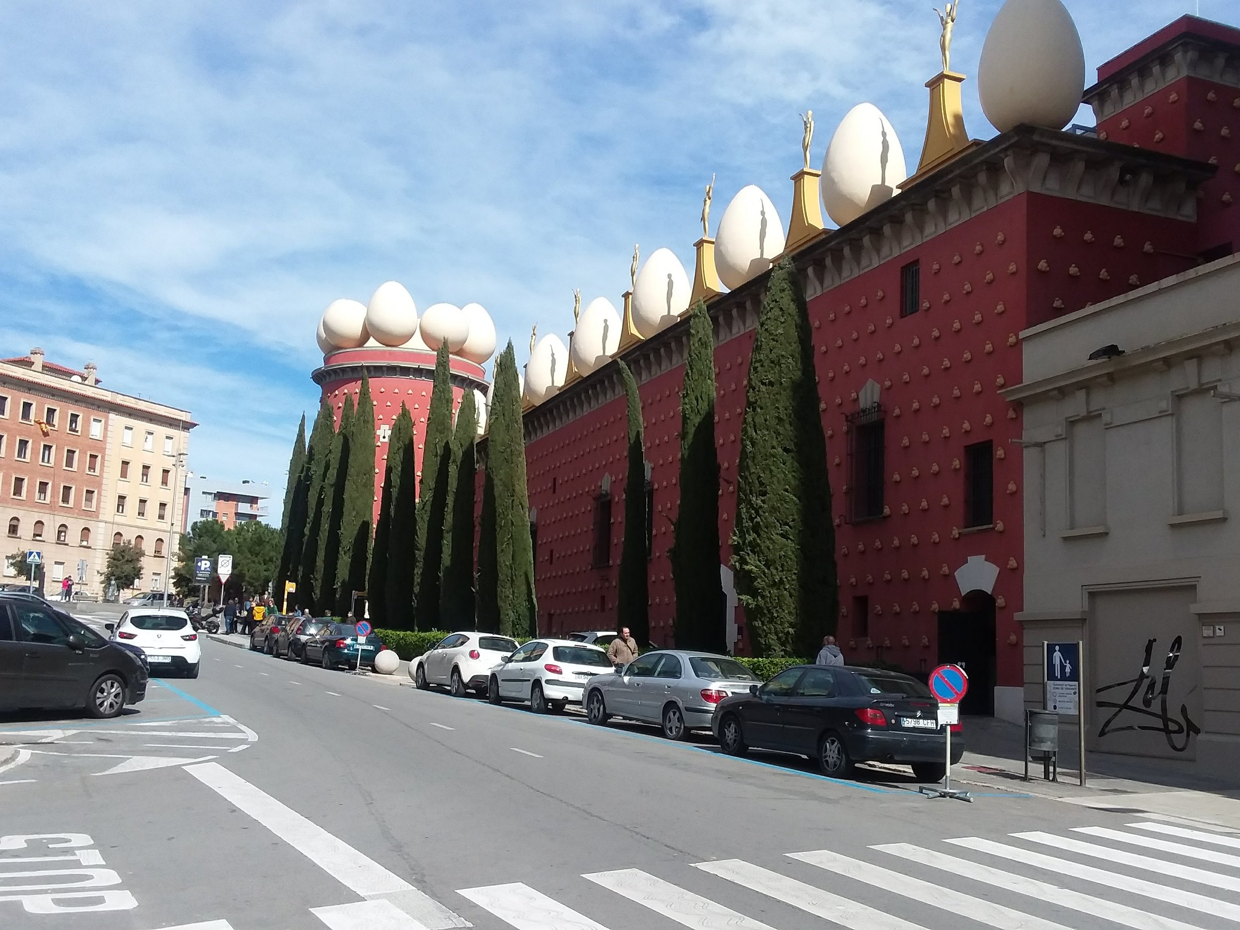Dali Theatre and Museum Figueres Salvador Dalí  in Costa Brava Spain