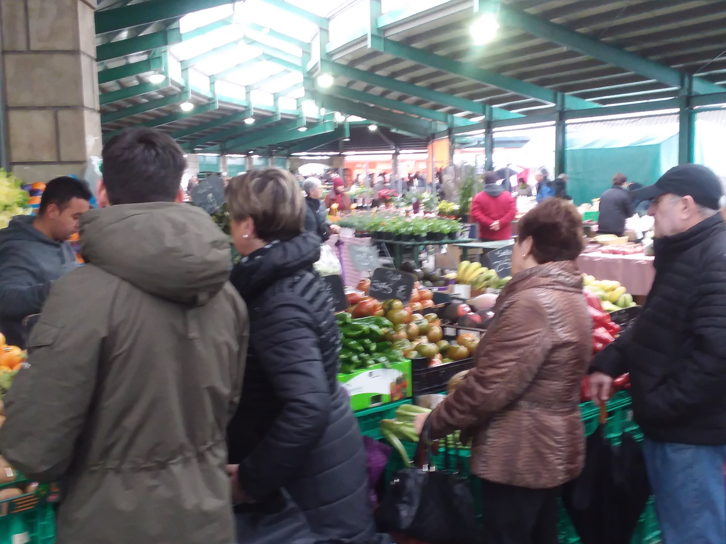 Guernica's Monday market