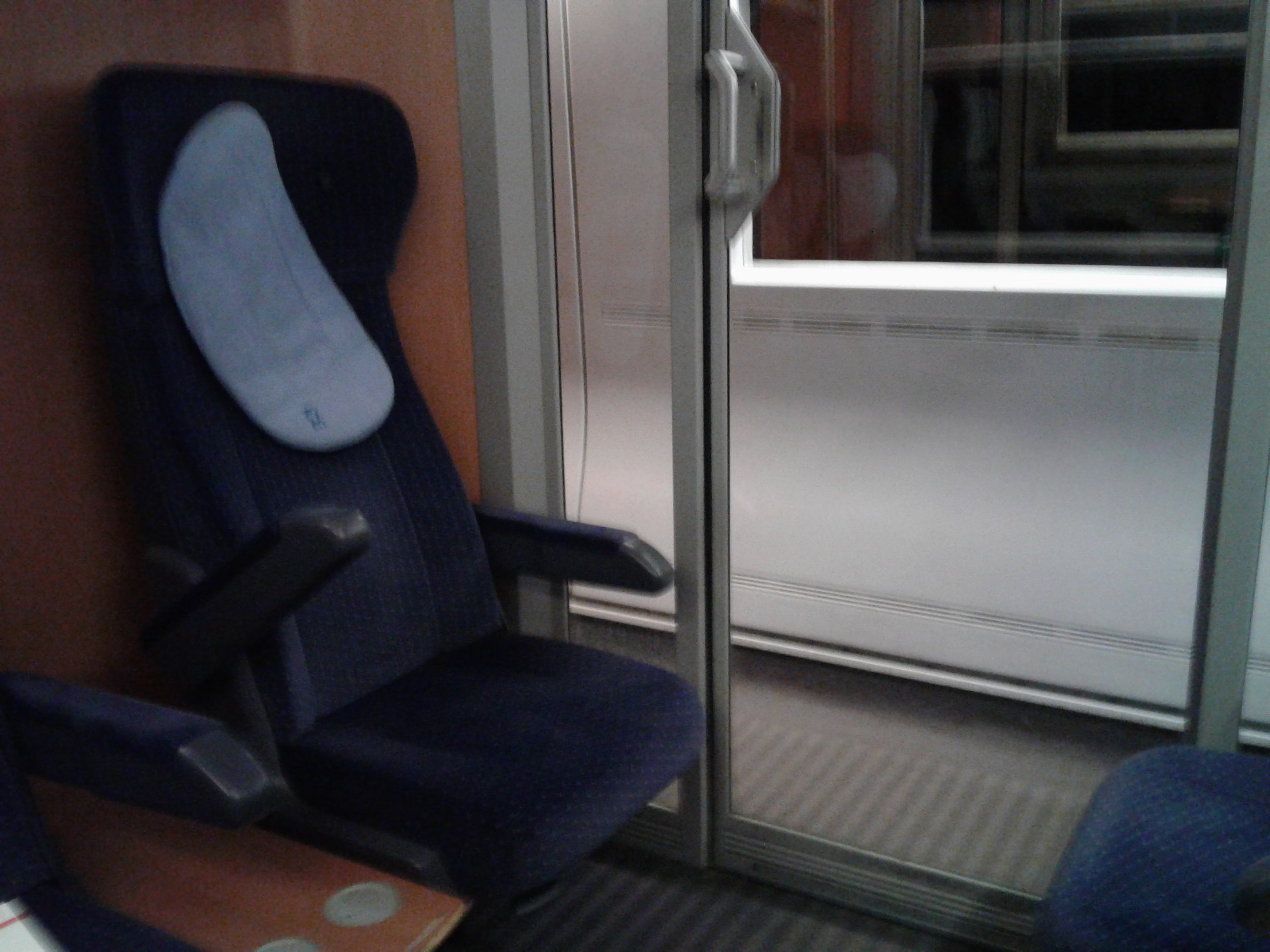 At least part off the day involved having a compartment to myself.