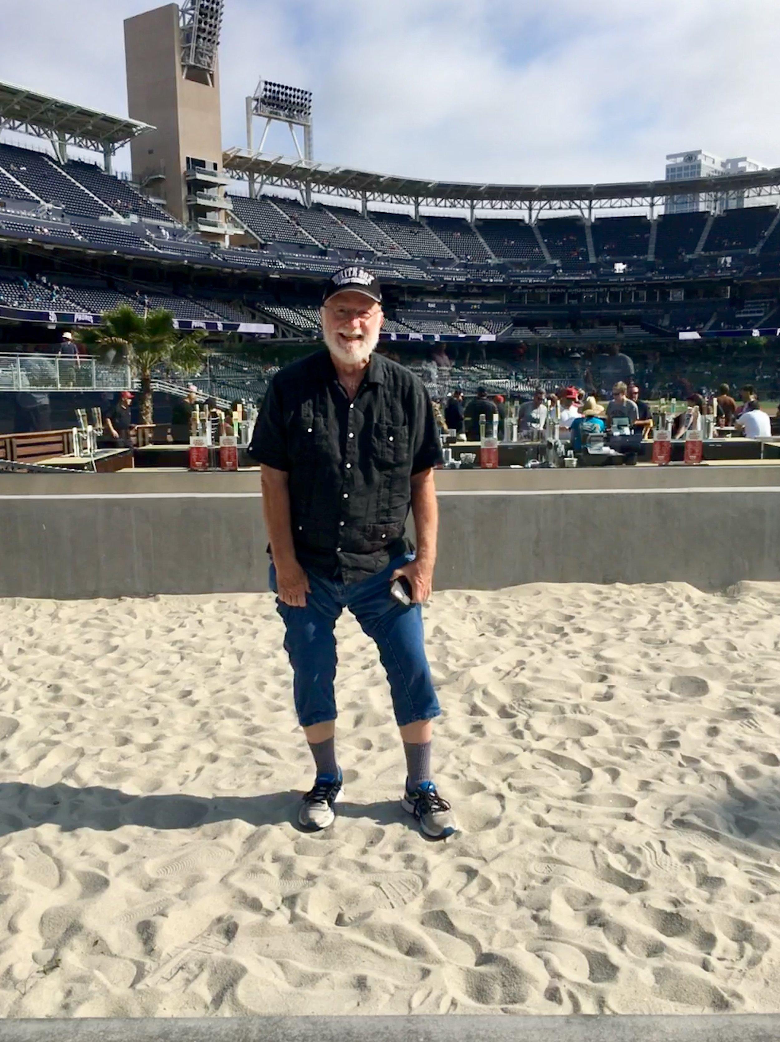 Even at a ballpark! Seriously?