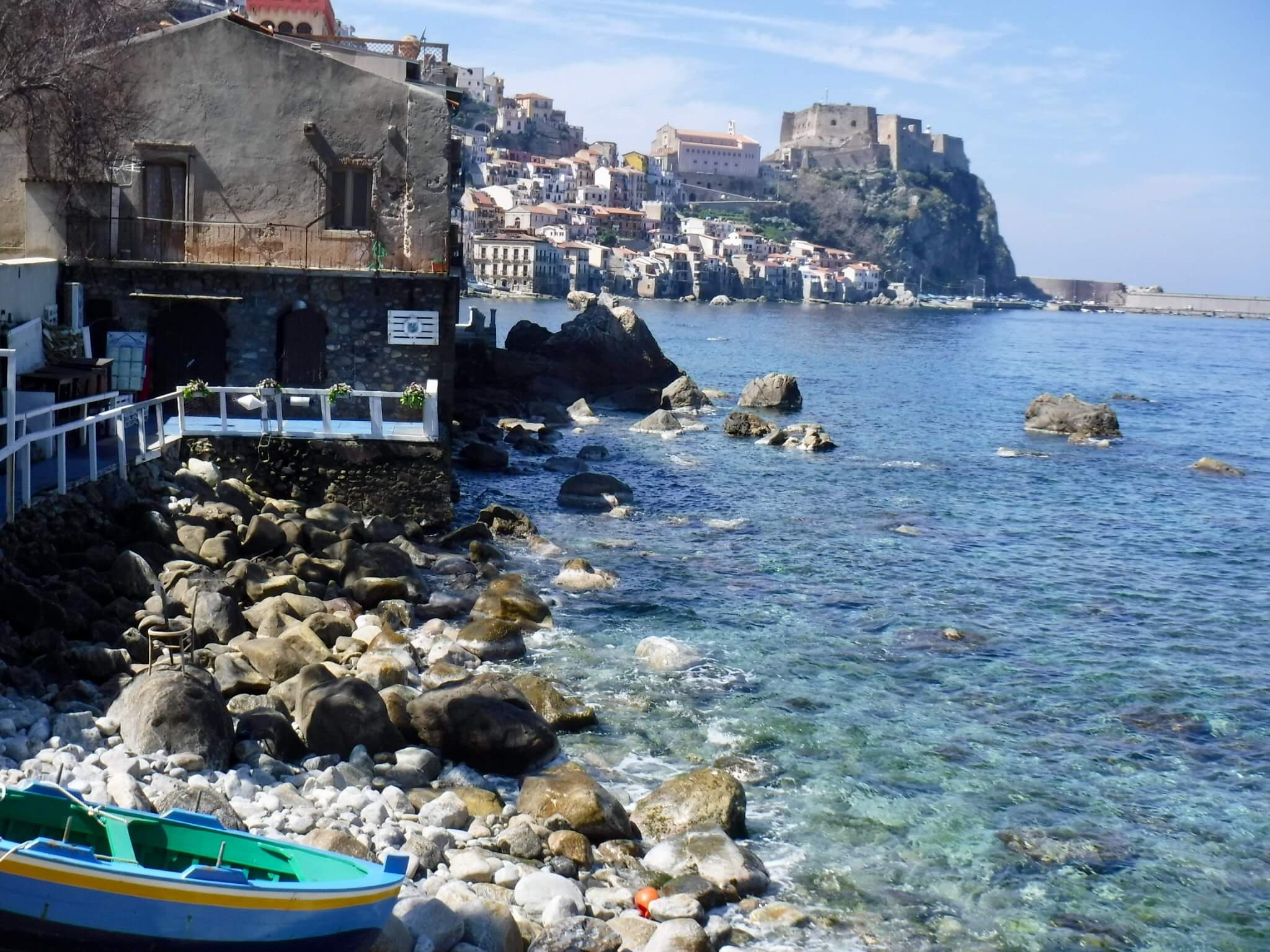 The marina in Scilla I would not have known existed on my own initiative