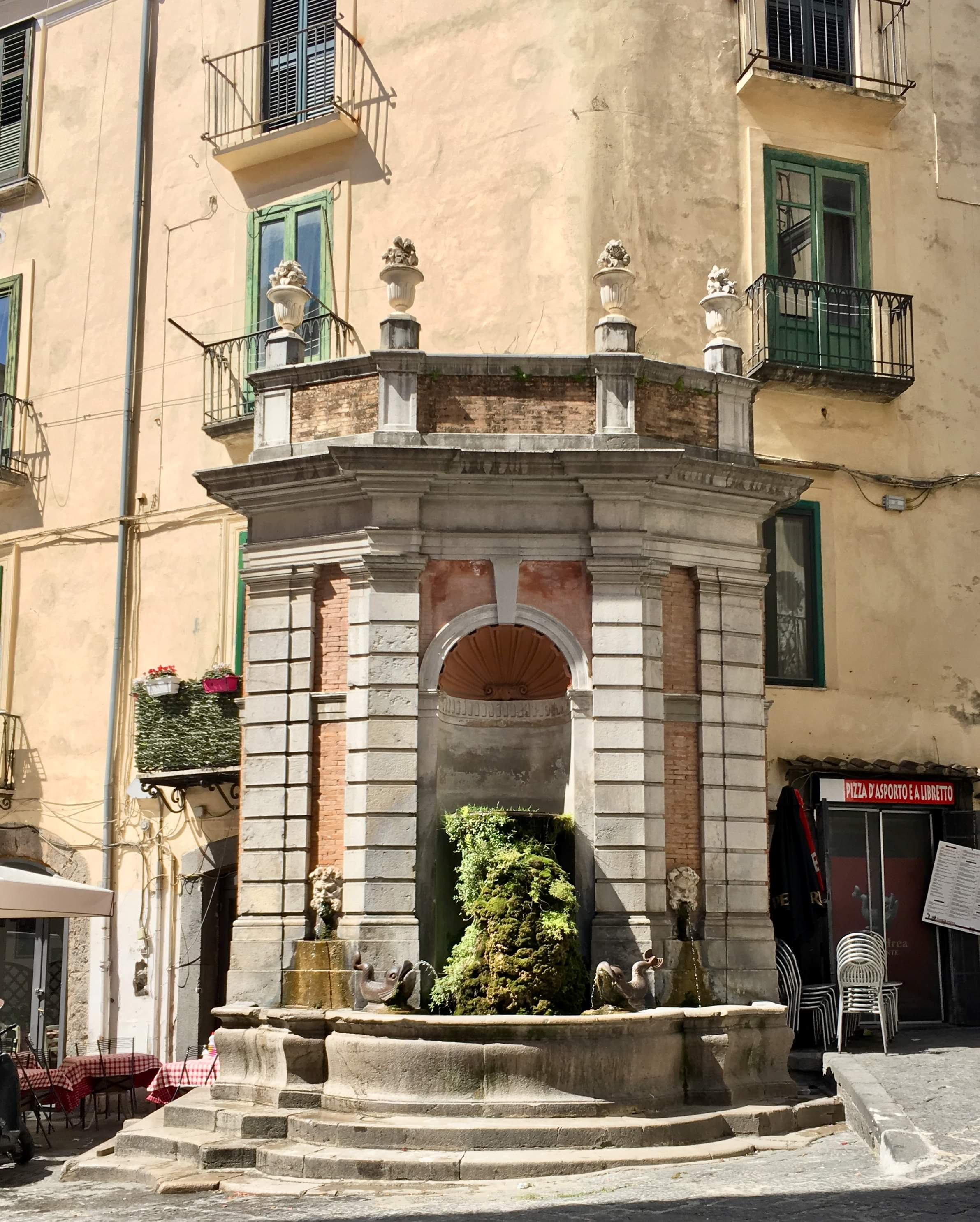 Salerno's old city, another bumbling and stumbling find