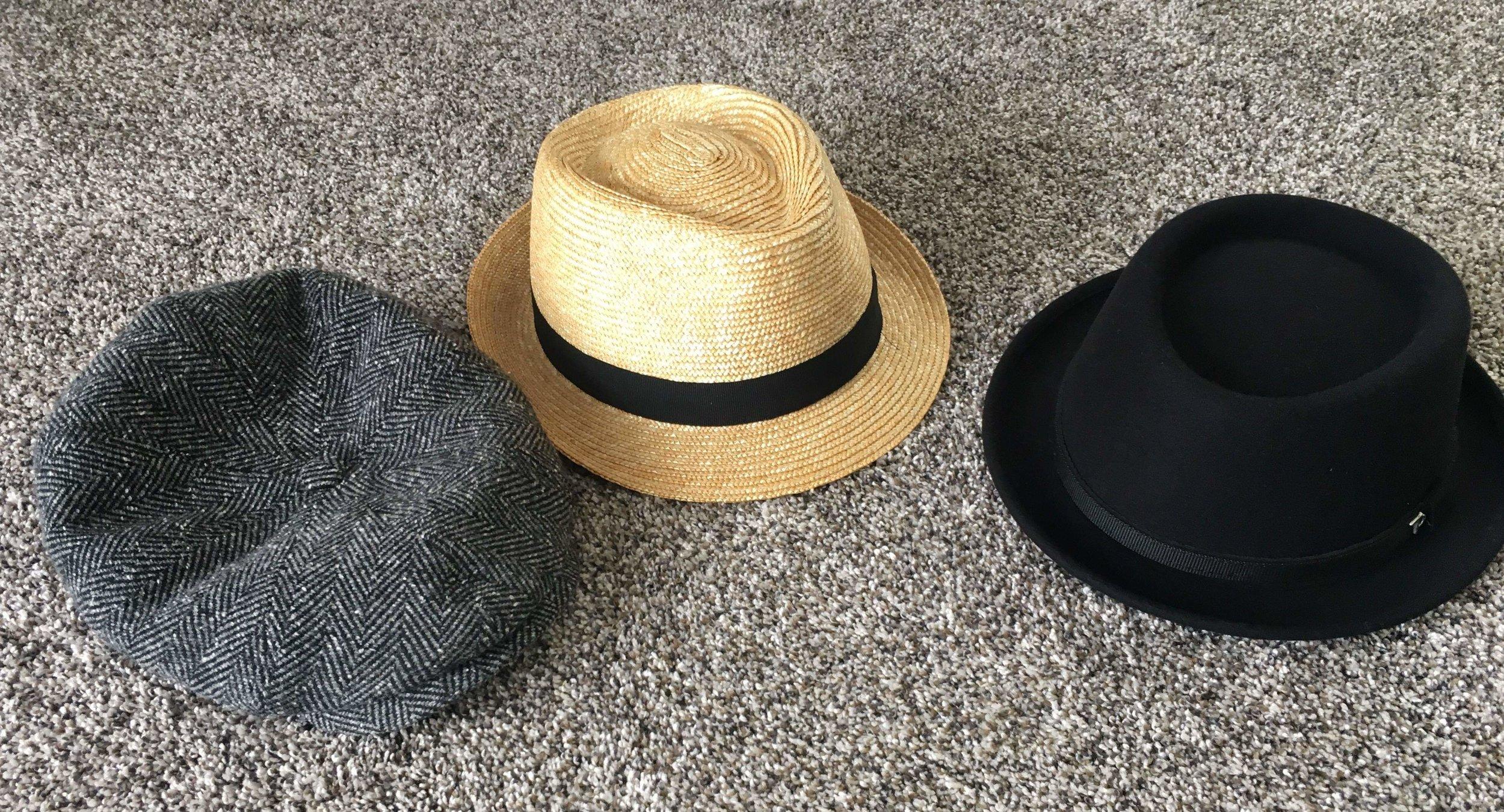 Goldilocks and the three hats...