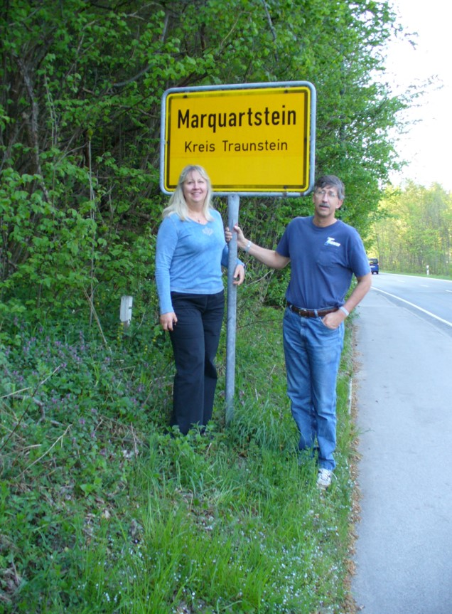 Carolyn and Michael on their first trip to Bavaria together