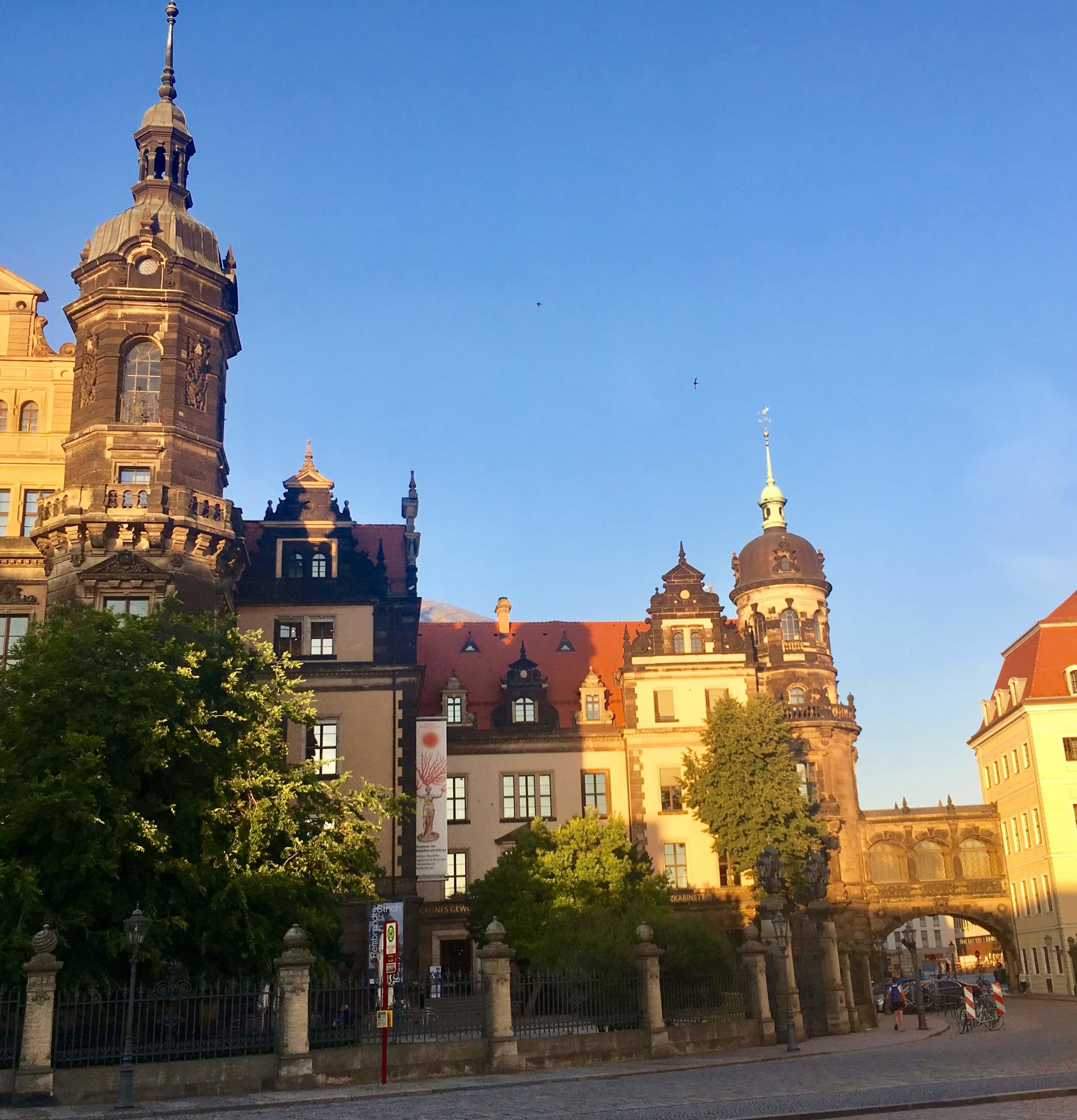 Dresden today: an impressive preservation of its Baroque past