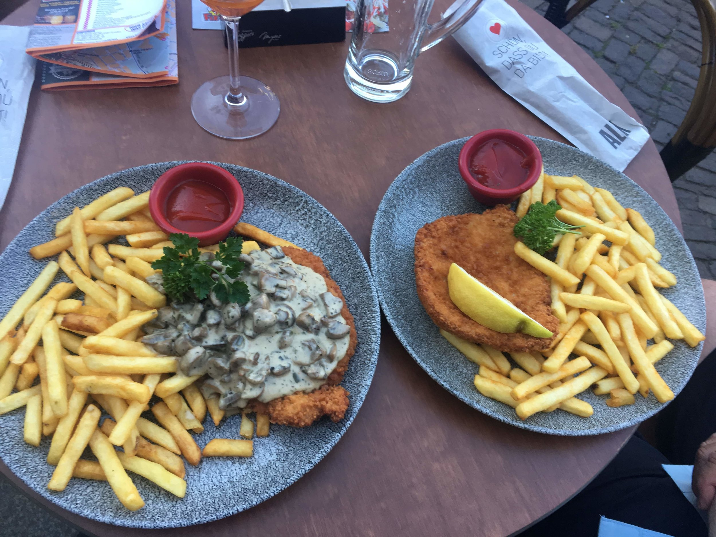 In the running for Best Schnitzel, Europe