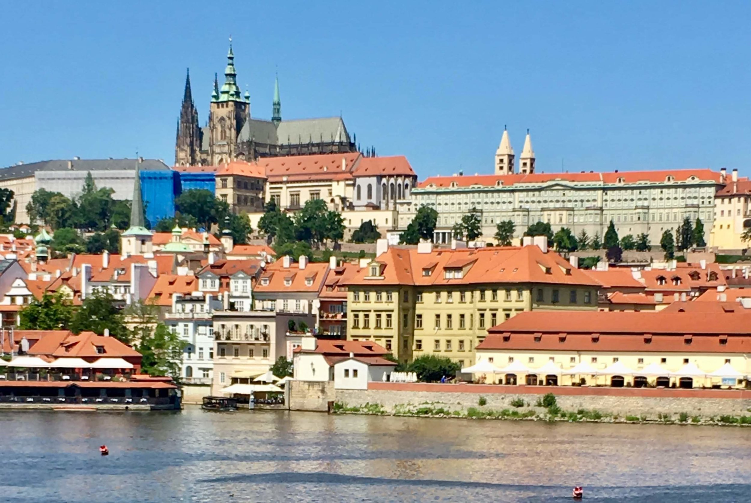 Prague remains a beautiful memory, despite the heat and the tourists