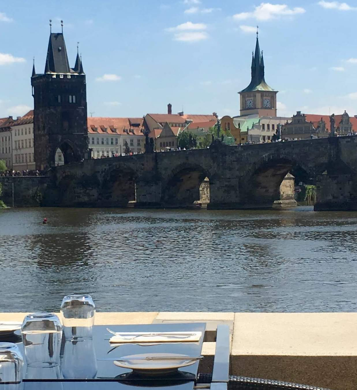 A Happy Hour break from the  Sturm und Drang  of Dresden and Kafka