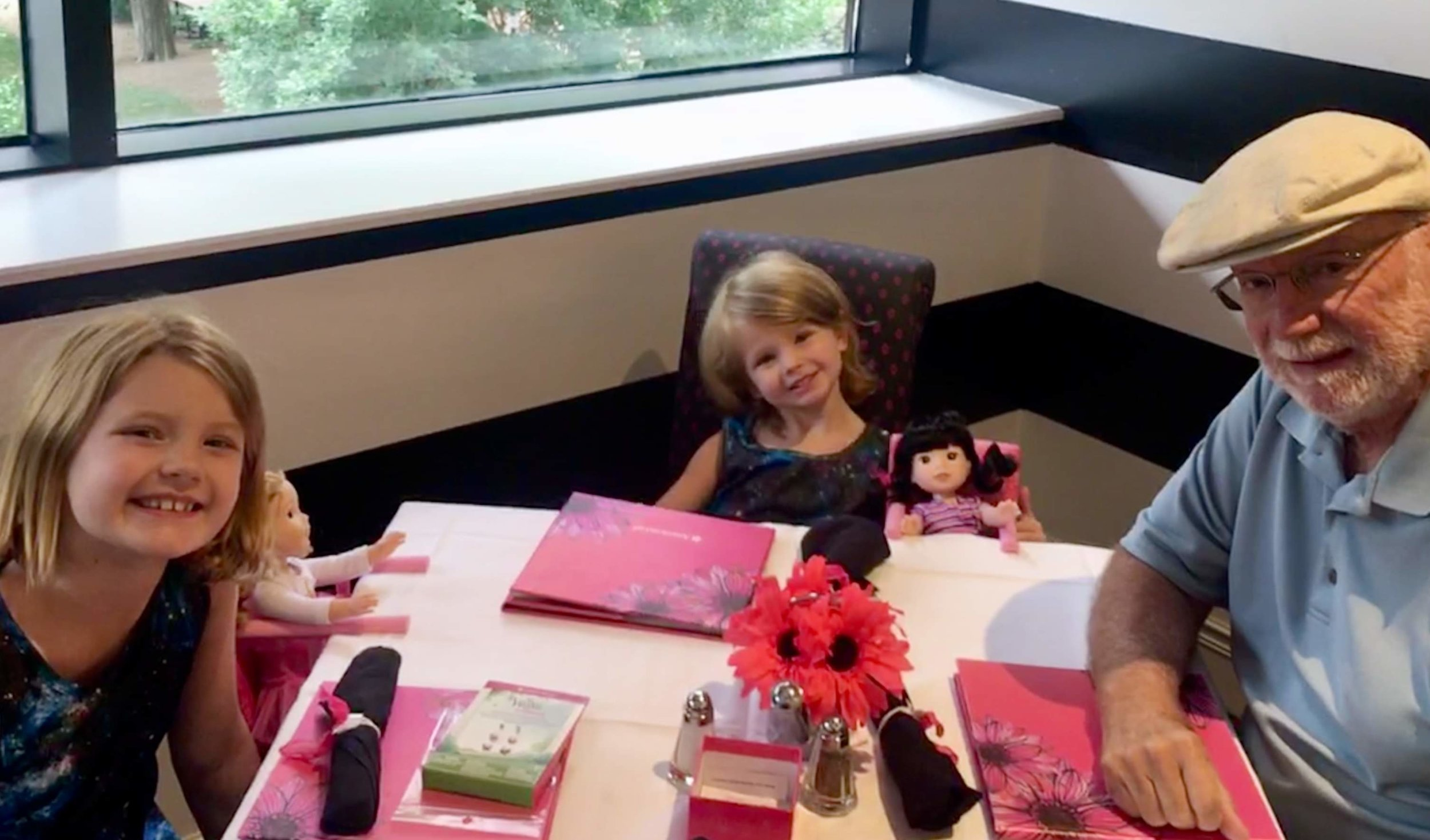 A luncheon date at  American Girl Cafe, Chicago