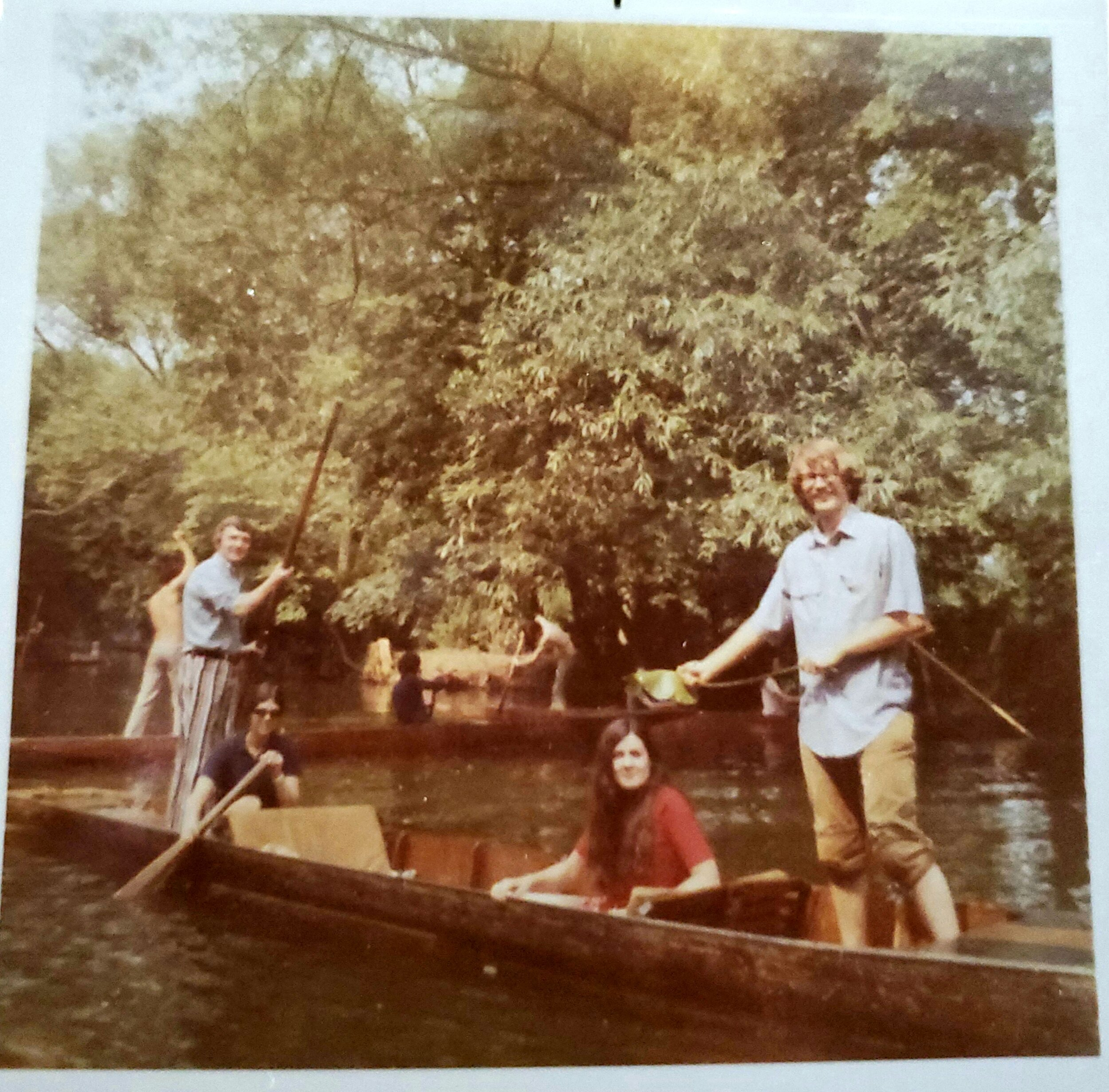 The sophisticated Oxford tradition known as Punting