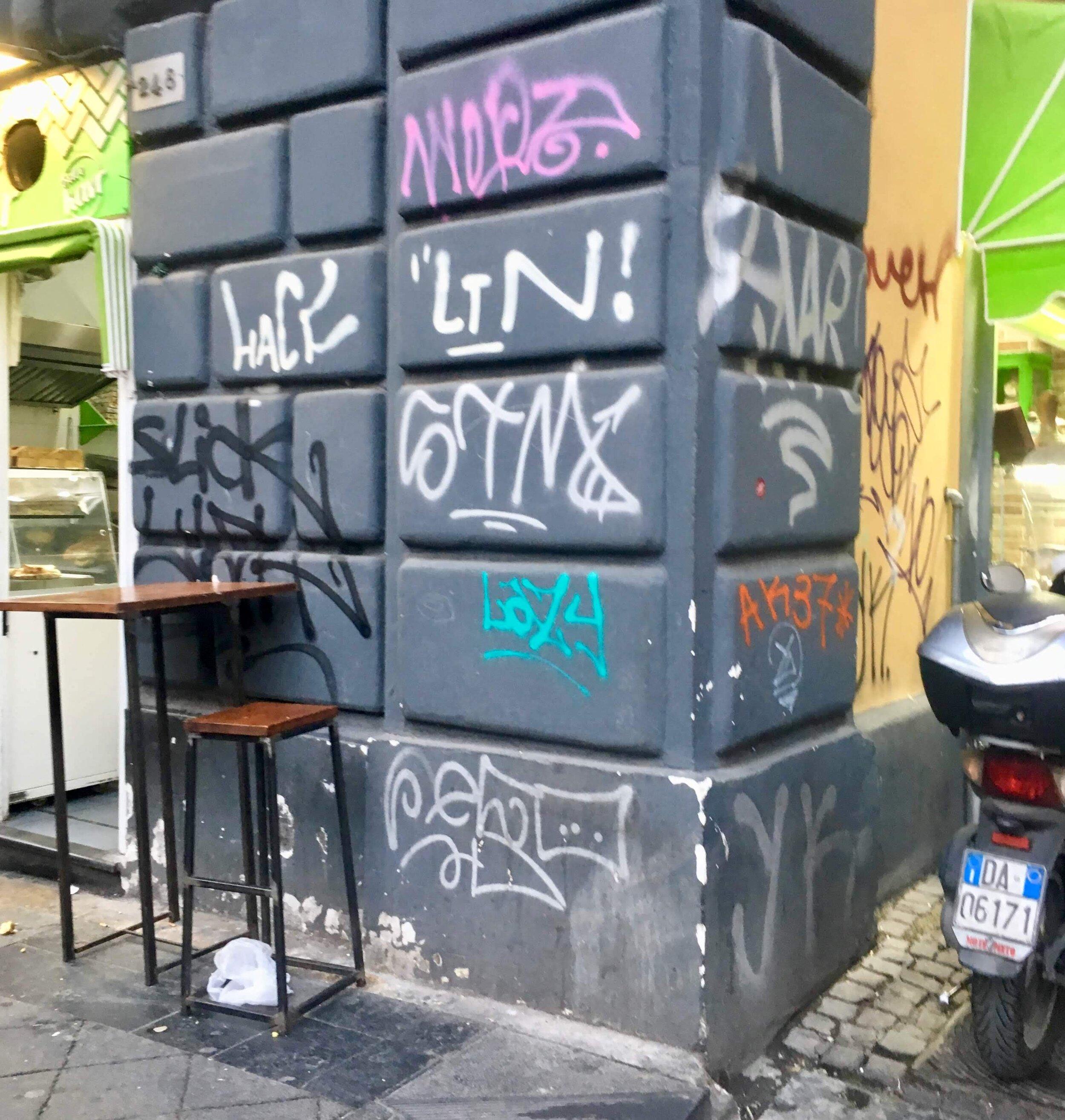Naples seemed ground zero for the post apocalypse