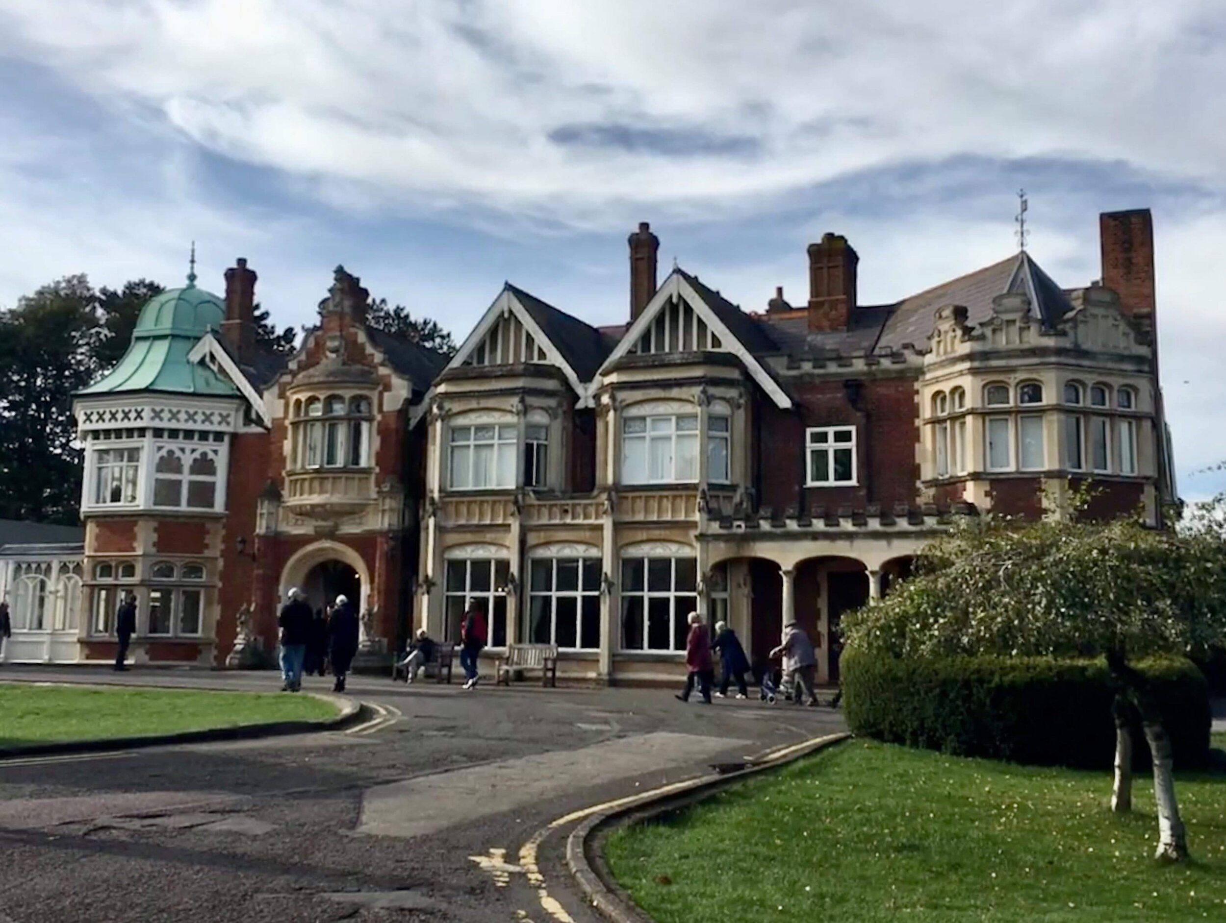 That Bletchley Park was a manor estate was deceptive in itself