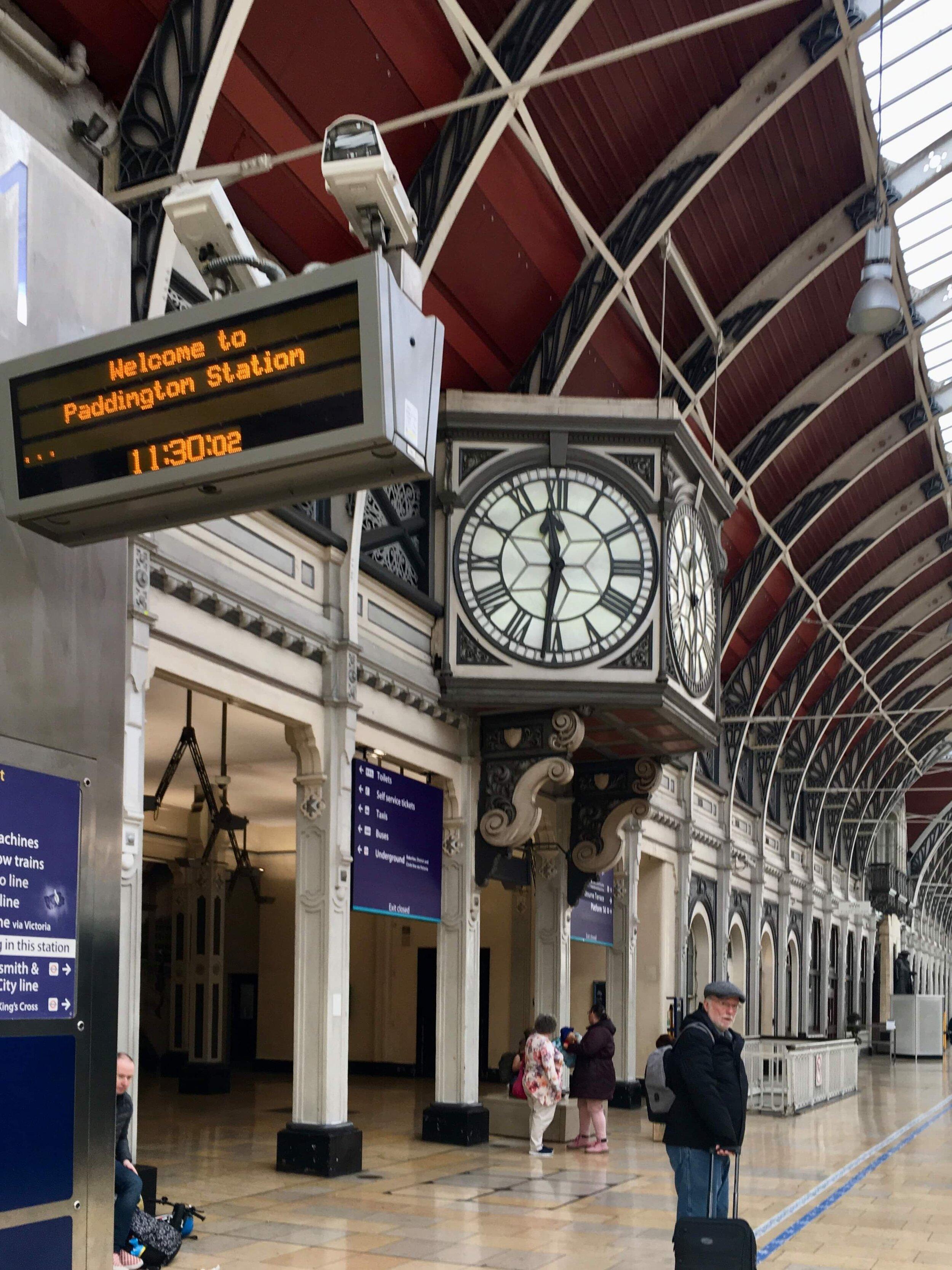 Paddington Station was full of promise that morning
