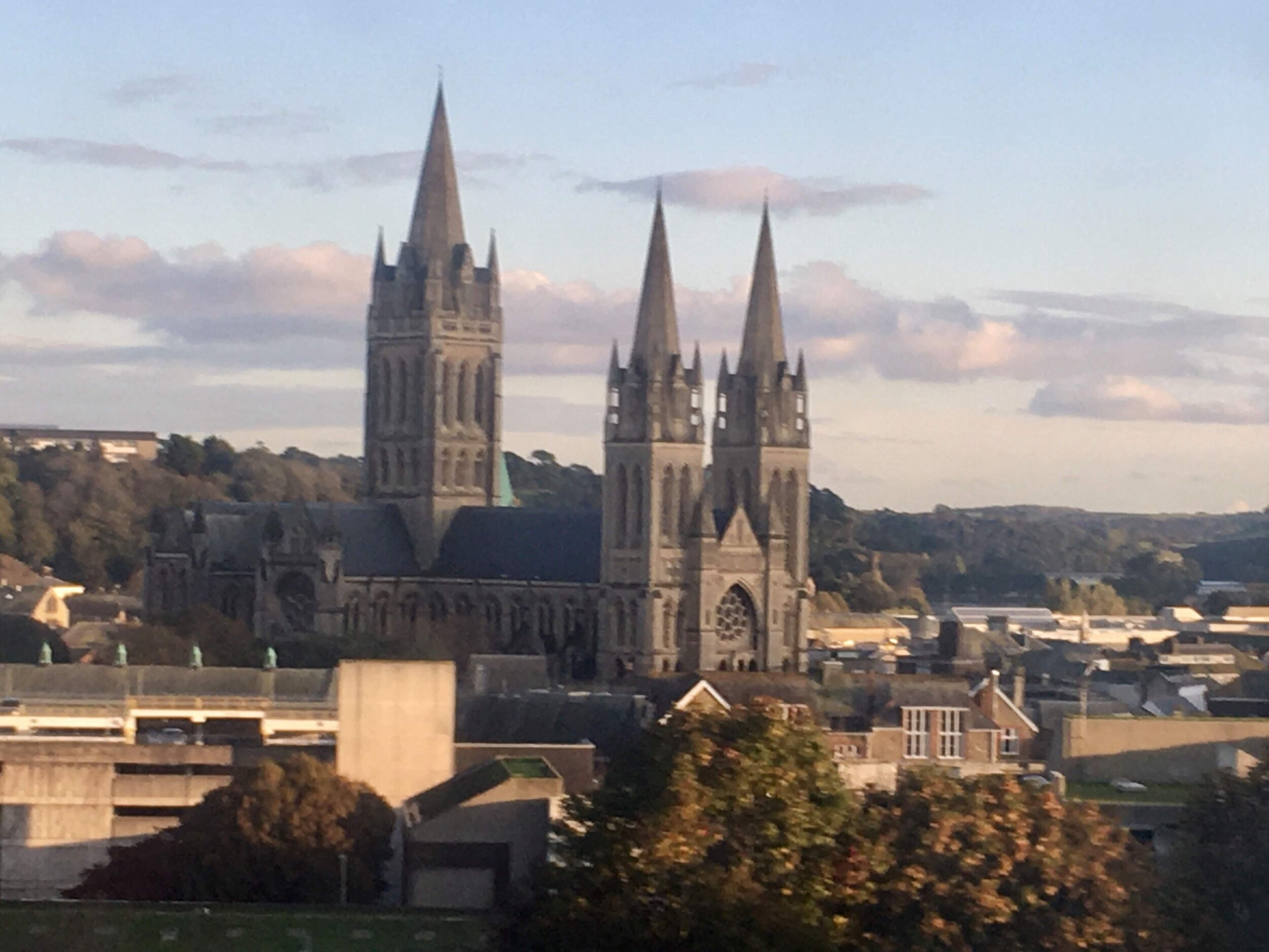 The cathedral at Truro was one even I'd consider going to