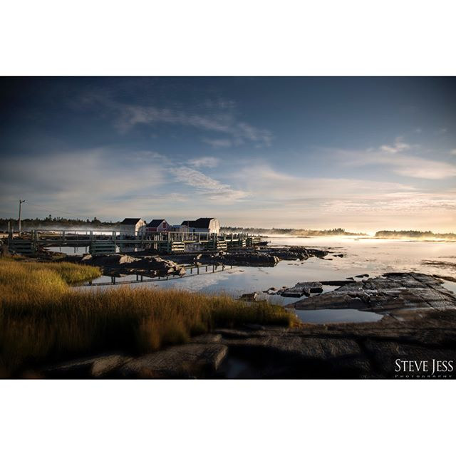 Ventured to Blue Rocks NS early this morning to capture this moody scene with fog dissipating off in the distance.  www.stevejess.com . . . . . #bluerocks #lunenburg #lunenburgcounty #lunenburgnovascotia #landscapephotography #landscape #landscapephotographers #seascapephotography #scenic #novascotialife #halifaxphotograher #Halifaxcommercialphotographer #landscape #instagram #insta #picoftheday #editorial #editorialphotoshoot #editorialphotography #fineart #fineartphotography #fineartists #stevejessphotography