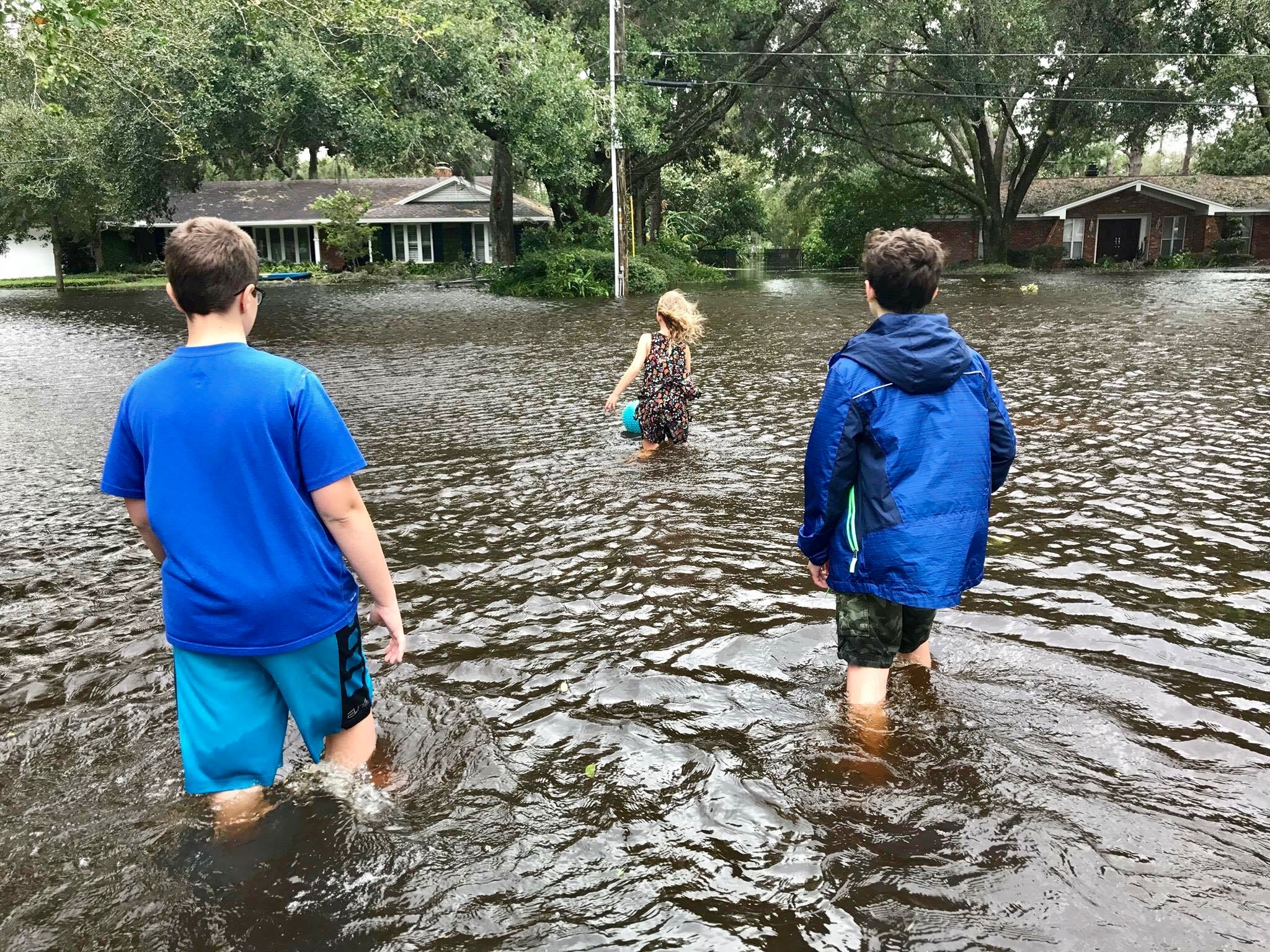Hurricane Irma flooded the Jacksonville, FL area.
