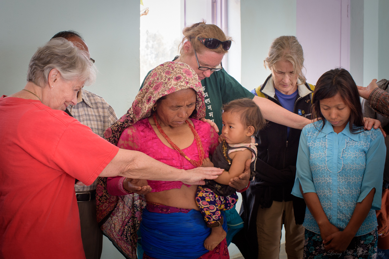 Praying for the Nepalese was a joy!