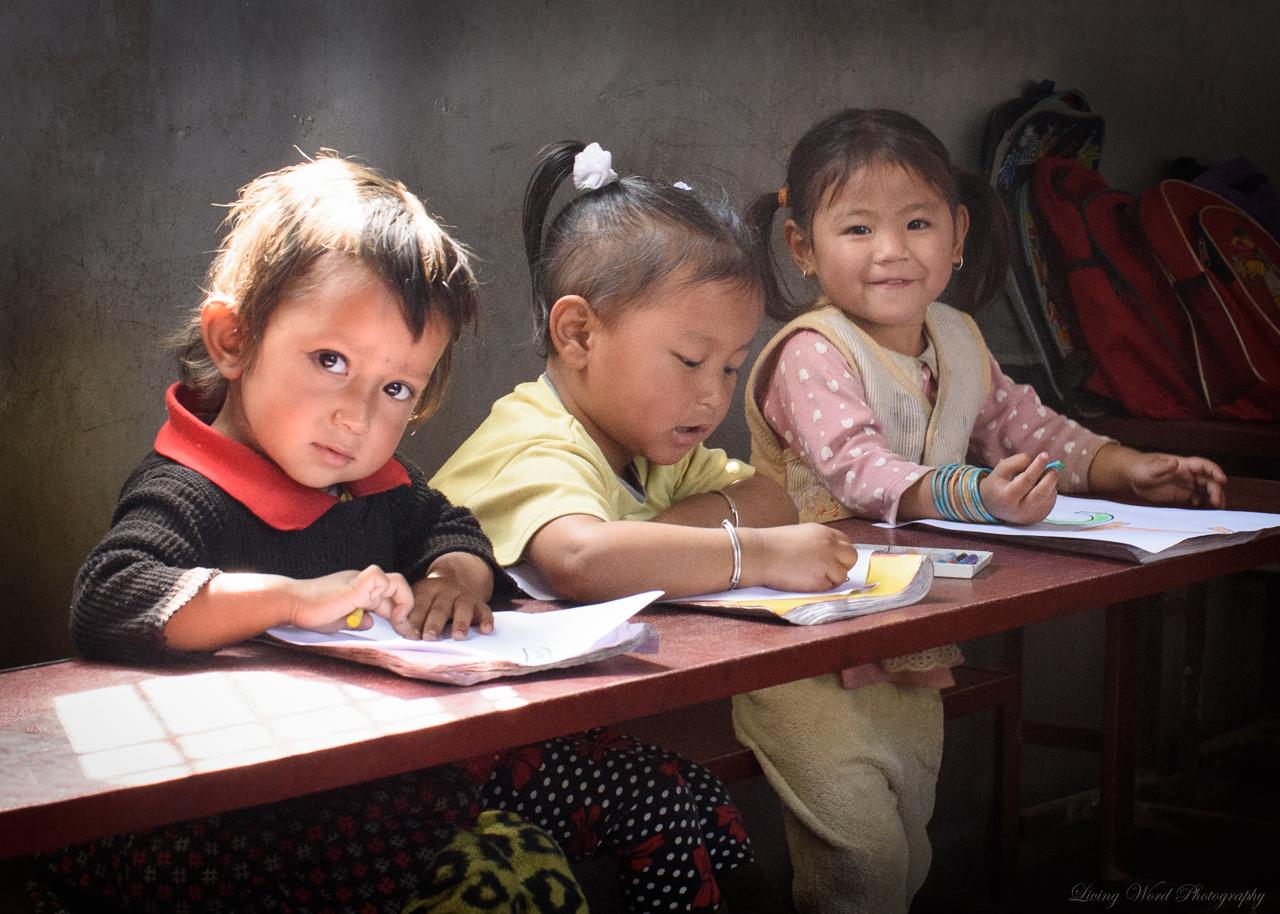 Danaseri Children at Kindergarten
